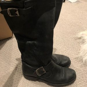 Frye tall Veronica slouch boots